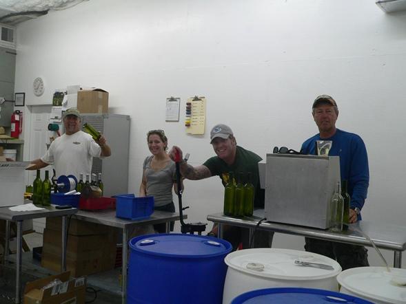 First Bottling Line