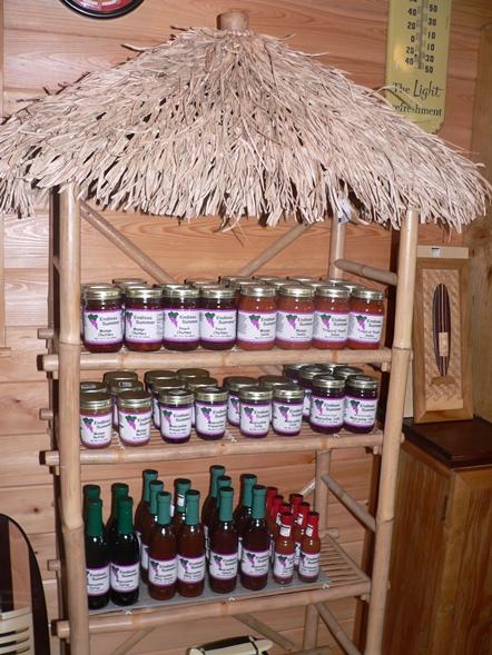 Muscadine Jams, Oils & Sauces