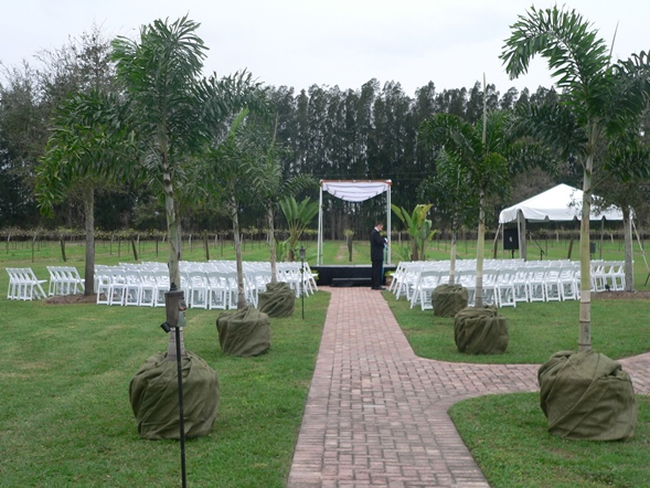 Fire Pit are Ceremony