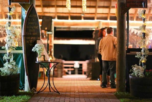 Pavilion Engagement Party