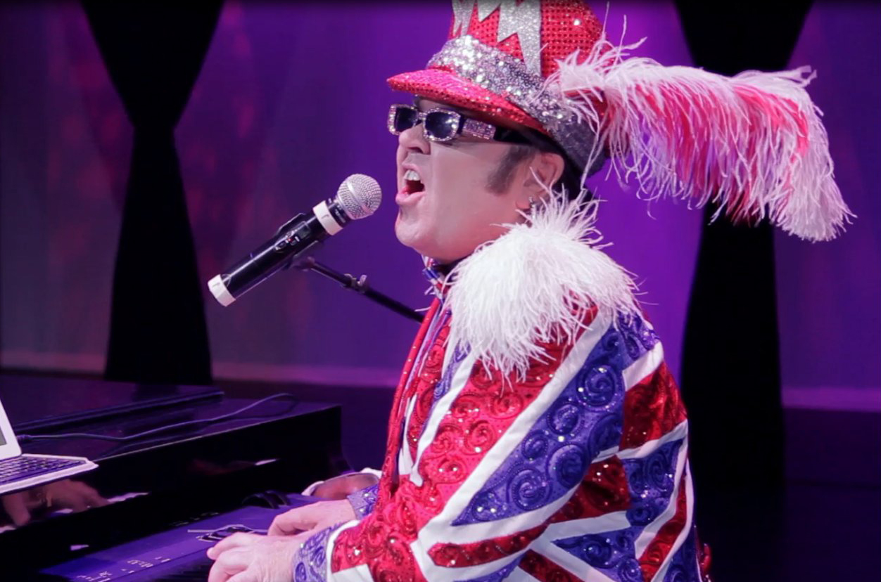 SPECIAL TRIBUTE SHOW TO ELTON JOHN WITH MASTER IMPERSONATOR BILL CONNOR