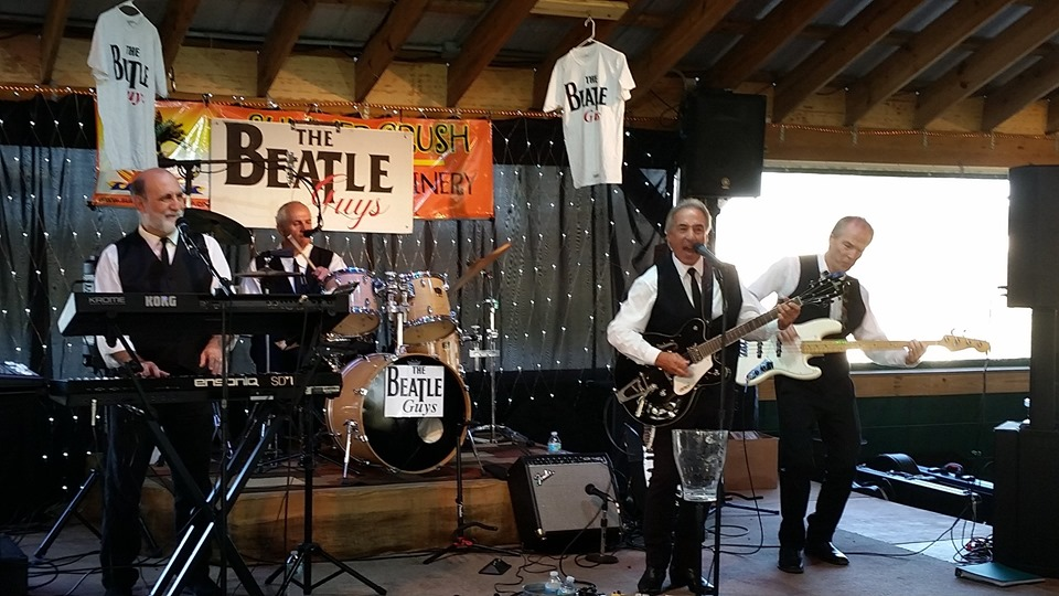 BEATLES TRIBUTE: WITH THE BEATLE GUYS BAND! AND HOT RODDING FOR HEROS CAR SHOW
