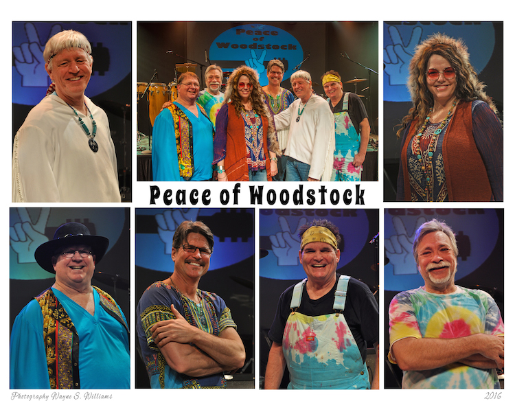 Peace of Woodstock, a musical tribute celebrating the legendary music of Woodstock.