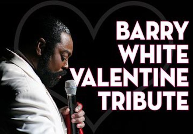 A VERY SPECIAL VALENTINES EVENING:  THE ULTIMATE BARRY WHITE TRIBUTE featuring JOURDAN CARROLL! Opener MR. VINCE LOVE.