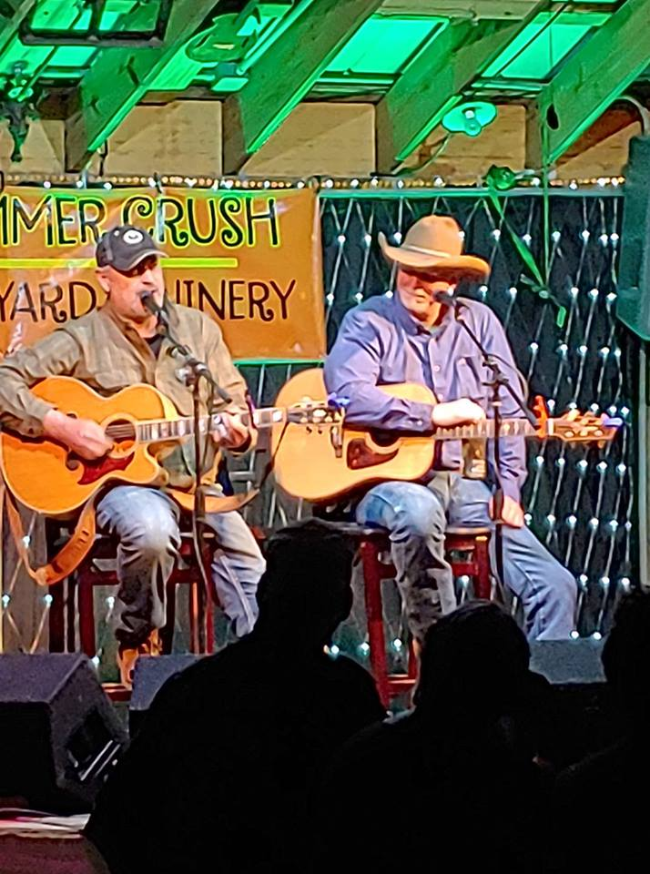 HANNAN & VARBLE'S Good Ole Guitar Pull is back! With two of the best and funniest Nashville #1 hit making Songwriters. Opener Country & Trop Rock recording artist Chris Bellamy.