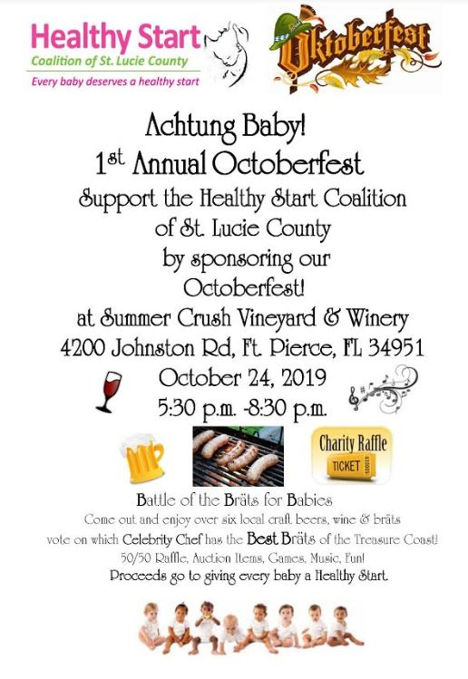 1st Annual Oktoberfest by Healthy Start Coalition