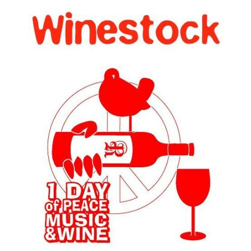 WINESTOCK: A Day of Peace Music & Wine. Celebrating the 51st anniversary of Woodstock with the HEMP FARM HIPPIES BAND