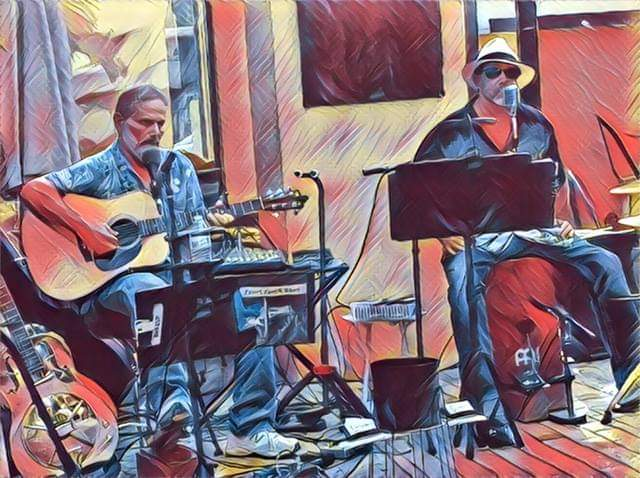 WINE AWAY THE BLUES with FRONT PORCH BLUES 2-6-21